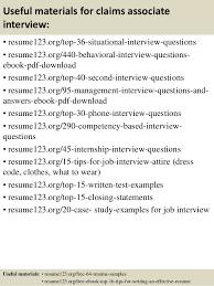 Top 8 Claims Associate Resume Samples Rh Slideshare Net Insurance Sample Processor Objective