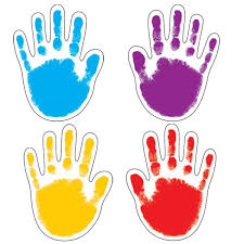 Handprint Coloring Page 1221029