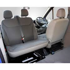 Kiravans Trafic Vivaro Double Seat Swivel UK Right Hand Drive Model