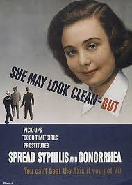 WW II POSTERS Syphilis She May Look Clean But Funny Pictures Random