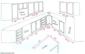 Romantic L Shaped Kitchen Layout Dimensions Setting Up Cabinets