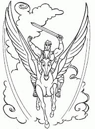 28 Collection Of Hercules And Pegasus Coloring Pages