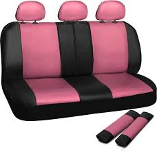 Amazon.com: OxGord Leatherette Bench Seat Covers Universal Fit For ... 1950 Chevy Truck Seat Covers Wiring Diagrams Amazoncom Unique Imports Premier Knit Mesh Full Size Bench Fits Chevrolet Solid Rugged Fit Custom Car Gray Home Idea Together With Camo Awesome Advanced Design Surprising Winter Cover Professional Innx Op902001 Waterproof Quilted Dog With Non Slip New Aftermarket Seats Saddle Blanket Navy Blue 1pc Ford 731980 Chevroletgmc Standard Cabcrew Cab Pickup Front