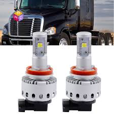 2pcs 2014 2015 2016 freightliner cascadia truck led headlight