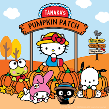 Oklahoma Pumpkin Patches by Tanaka Farms Sanrio Pumpkin Patch With Hello Kitty U0026 Friends