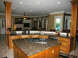 Ideas Resplendent Kitchen Island Granite Top Shapes With Curved Designs Also Rustic Chicken Decor