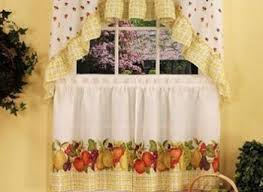 Grape Decor Kitchen Curtains by Tuscany Kitchen Curtains Tuscan Decor Grapevine And Grapes Kitchen