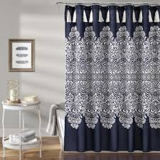 Boho Medallion Shower Curtain Lush Decor