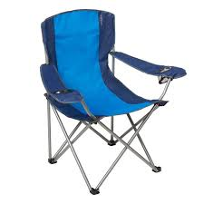 100 Folding Chair With Carrying Case Oversize Captain Blue Embark For Sale