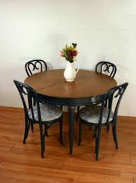 No 118 Navy Blue Dining Table Chairs