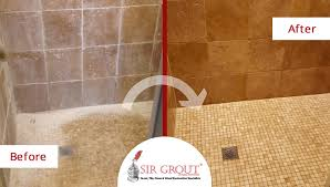 goodbye soap scum see how this shower in dallas tx underwent an