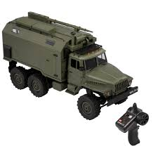 100 Rc Military Trucks 116 WPL B36 RC Car Command Vehicle 24G 6WD Army Car Ch