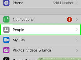3 Ways to Unblock Someone on Messenger wikiHow