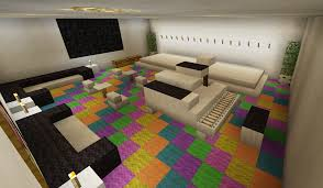 Minecraft Xbox 360 Living Room Designs by Minecraft Music Room Stage Karaoke Piano Rainbow Carpet Creations