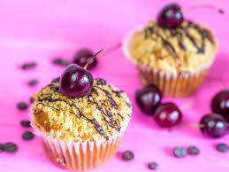 schoko kirsch muffins