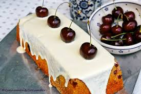 white chocolate cherry bundt cake recipe with