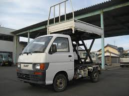 Rare Sccissor Lift! 1994 Daihatsu (Toyota) Hijet 4x4 Us$5190 (in ...
