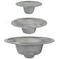 Install Sink Strainer Basket by Shop Brasscraft 3 Pack 2 In Stainless Steel Kitchen Sink Strainer