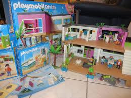 playmobil luxusvilla mit div zubehör