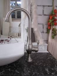 le miau waschtisch mit marmorplatte