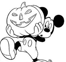 Free Disney Characters Halloween Coloring Pages And Ideas