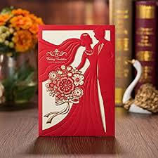 d lacer en cuisine ponatia 25 pcs lacer cut mariée et marié carte d invitation pour