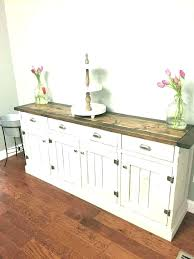 White Sideboard Cabinet Sideboards And Buffets