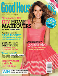 Decor Magazines South Africa by Good Housekeeping Goeie Huishouding South Africa September