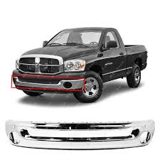 100 2003 Dodge Truck Amazoncom MBI AUTO Chrome Steel Front Bumper Face Bar For 2002