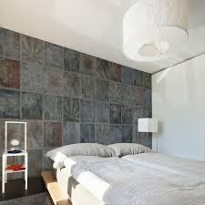 YoYo Designs Distressed Concrete Tiles Wallpaper Yo2 F107
