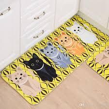 tapis pour cuisine acheter tapis de sol kawaii welcome tapis de cuisine pour animaux