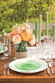 Summer Table Settings Party Centerpieces For Tables Pertaining To Sizing 2000 X 3000