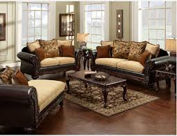 Brown Fabric Sofa Sets Alluring Contemporary Sofas Leather And Rustic 1