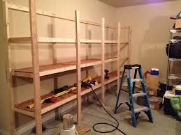 garage storage shelves plans build garage storage shelves