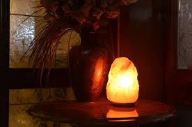 Himalayan Salt Lamp Nz by Himalayan Natural Salt Lamp Crystal Salt Chunks In Glass Bowl With
