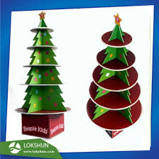 China Cardboard Christmas Tree Display Stand Made With Foamboard Intended For