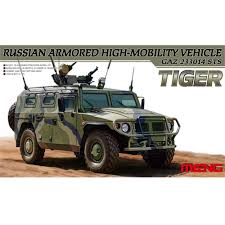 100 Russian Military Trucks OHS Meng VS003 135 Armored High Mobility Vehicle GAZ 233014