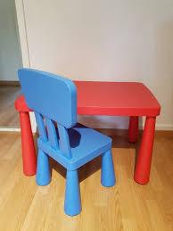 stuhl und tisch ikea mammut kaufen auf ricardo