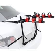 YescomUSA: 3 Bike Bicycle Carrier Car Truck SUV Foldable Trunk Mount ... Dakine Pickup Pad 62 Mountain Bike Truck Tailgate Car Trkrhbestchoiceproductscom Best Bicycle Racks For Trucks Fat Cyclist Blog Archive Meet The Bikemobile Swagman Patrol Bed Rack Amazoncom New Upright 2 Hitch Carrier Rear Wheelwally Home Ib17 Inno Updates Hitch Trays Adds Clever Truck Bed Frame Ubiquirack For Scuba Tanks Bikes And Anything Else One Rack Stop Skateboard Mount Usa Heavy Duty 4 Suv Van Ebay 2018 Auto Bikes