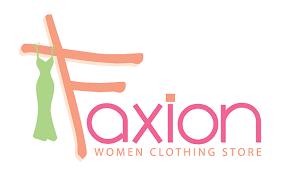 Faxion Women Teen Clothing Store Logo