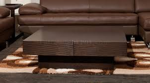 Etch Coffee Table by Beverly Hills Furniture in Wenge