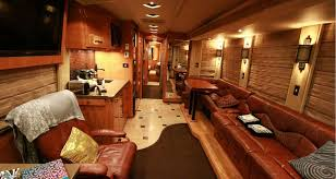 Tour Bus Interior Design Take A Peak Inside Gary Allans One Of Kind Rvshare Small Ideas