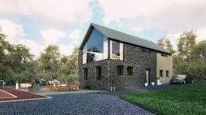 100 Modern Barn Conversion Ballymena Slemish Design Studio Architects