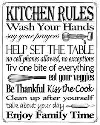 Enjoy This Kitchen Rules Free Printable In An 8
