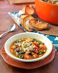 Pumpkin Butternut Squash Soup Ina Garten by Minestrone Soup With Butternut Squash Kale Bacon And Parmesan