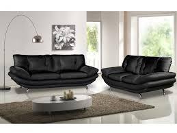 canapé noir et blanc canapé et fauteuil en simili noir ou blanc forrest