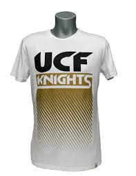 UCF KNIGHTS WHITE MENS FADE OUT TEE By FLYING COLORS