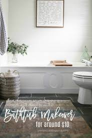 $9 Bathtub Makeover | +We Create | Bathtub Makeover, Cheap Bathtubs ... Diy Small Bathroom Remodel Luxury Designs Beautiful Diy Before And After Bathroom Renovation Ideasbathroomist Trends Small Renovations Diy Remodel Bath Design Ideas 31 Cheap Tricks For Making Your The Best Room In House 45 Inspiational Yet Functional 51 Industrial Style Bathrooms Plus Accsories You Can Copy 37 Latest Half Designs Homyfeed Inspiring Tile Wall Tiles Excellent Space Storage Network Blog Made Remade 20 Easy Step By Tip Junkie Themes Unique Inspirational 17 Clever For Baths Rejected Storage