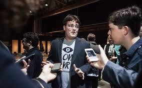 100 Luckey Trucking Oculus Rift Inventor Palmer Quits Facebook After Funding Anti