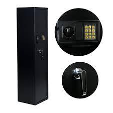 14 Gun Cabinet Walmart by 5 Rifle Safe Box Gun Storage Electronic Pin Digital Keypad Lock